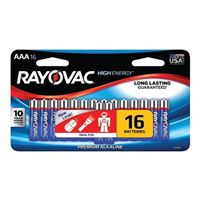 Rayovac AAA Alkaline Battery - 16 Pack