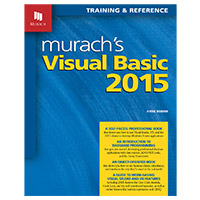 Mike Murach & Assoc. Murach's Visual Basic 2015, 6th Edition