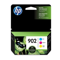 HP 902 Color Original Ink Cartridge 3-Pack