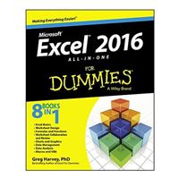 Wiley Excel 2016 All-in-One For Dummies, 1st Edition