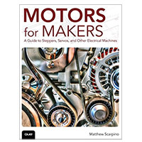 Pearson/Macmillan Books Motors for Makers, 1st Edition