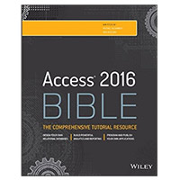 Wiley Access 2016 Bible, 1st Edition