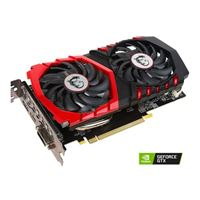 MSI GAMING X GeForce GTX 1050 Ti Overclocked Dual-Fan 4GB GDDR5 PCIe Video Card