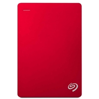 "Seagate Backup Plus 5TB USB 3.0 2.5"" Portable External Hard Drive - Red"
