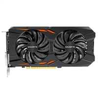 Gigabyte WindForce GeForce GTX 1050 Overclocked Dual-Fan 2GB GDDR5 PCIe Video Card