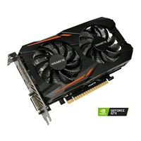Photo - Gigabyte GeForce GTX 1050 Ti Overclocked Dual-Fan 4GB GDDR5 PCIe 3.0 Graphics Cards