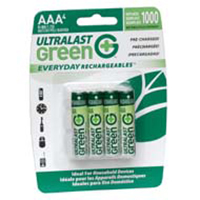 Dantona Industries Ultralast AAA Rechargeable NiMH Batteries (4-Pack)