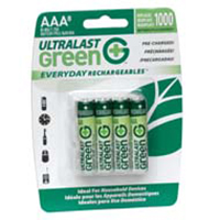 Dantona Industries Ultralast AAA Rechargeable NiMH Batteries (8-Pack)