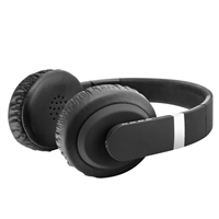Sentry Industries Premium Bluetooth Folding Headphone w/ Mic - Black
