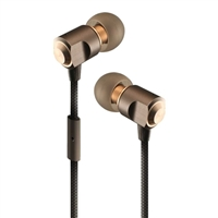 Sentry Industries Metal Pro Series Earbuds - Bronze