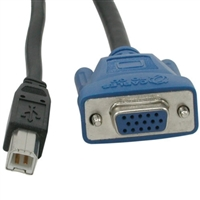 Cables To Go USB 2.0 VGA KVM Cable - 10ft
