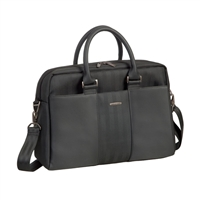 "RIVACASE Narita Business Lady's Tote Laptop Bag Fits Screens up to 14"" - Black"