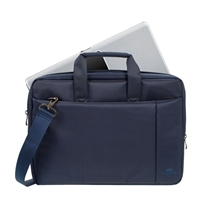"RIVACASE Central Laptop Case Fits Screens up to 15.6"" - Blue"