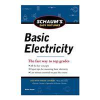 McGraw-Hill Schaum's Easy Outline of Basic Electricity Revised, 1st Edition