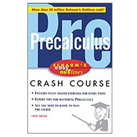 McGraw-Hill Easy Outline of Precalculus