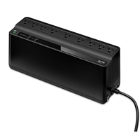 APC Back-UPS 850VA 450W 9-Outlets w/ 5 ft. Cord