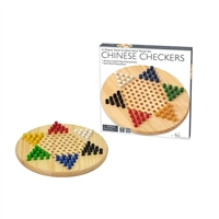 Intex Entertainment Wooden Chinese Checkers