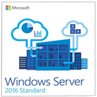 Microsoft Microsoft Windows Server Standard 2016 DSP 16 Core - 1 Pack