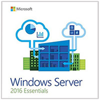 Microsoft Microsoft Windows Server Essentials 2016 64 Bit - 1 Server, 2 Devices (OEM)