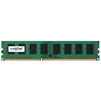 Crucial 4GB DDR3L-1600 PC3L-12800 CL11 Single Channel Desktop Memory Module CT51264BD160BJ