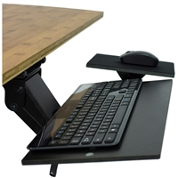 Uncaged Ergonomics Ergonomic Under-Desk Computer Keyboard Tray with Negative Tilt