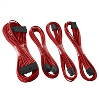 CableMod E-Series G2/G3/P2/T2 Basic Cable Kit - MC Edition - Red