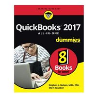 Wiley QuickBooks 2017 All-In-One For Dummies, 1st Edition