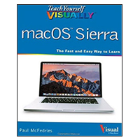 Wiley Teach Yourself VISUALLY macOS Sierra, 1st Edition