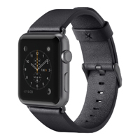 Belkin 38mm Classic Leather Band for Apple Watch - Black
