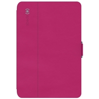 Speck Products StyleFolio Case for iPad Mini 4 - Fuchsia Pink/Nickel Gray