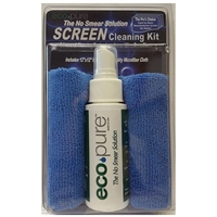 EcoPure Screen Cleaning Kit w/ Blue Cloth