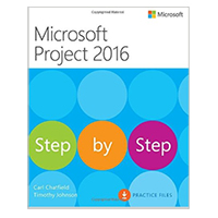 Pearson/Macmillan Books Microsoft Project 2016 Step by Step, 1st Edition