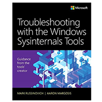 Pearson/Macmillan Books Troubleshooting with the Windows Sysinternals Tools