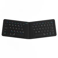 Kanex MultiSync Foldable Travel Keyboard - Black