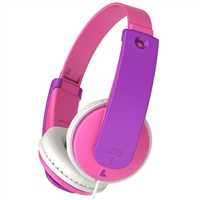 JVC Tinyphones Volume-Limiting Headphones for Kids - Pink/Purple