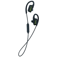 JVC Sports Bluetooth Wireless Ear Clip Fitness Earbuds - Black