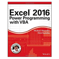 Wiley Excel 2016 Power Programming with VBA
