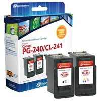 Dataproducts Remanufactured Canon PG240/CL241 Black/Tri-color Ink Cartridge Combo Pack