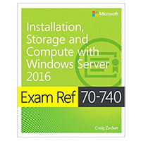 Microsoft Press EXAM 70-740 INSTALLATION