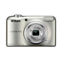 Nikon A10 Coolpix 16.1 Megapixel Digital Camera - Silver