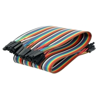 Velleman 30cm 40-Pin F-F Flat Cable Jumper Wire