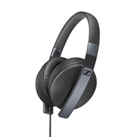 Sennheiser HD 4.20s Folding Headset W/ mIC - Black