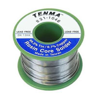Tenma Lead Free 6 oz. Rosin Core Solder - Tin/Copper