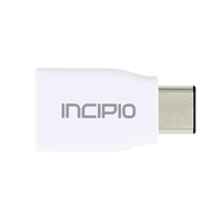 Incipio Technologies Charge/Sync USB-C to USB-A Adapter - White