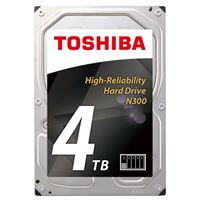 "Toshiba N300 4TB 7200RPM SATA 6Gb/s 3.5"" NAS Internal Hard Drive"