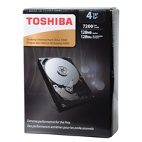 "Toshiba X300 4TB 7200RPM SATA III 6Gb/s 3.5"" Internal Hard Drive"