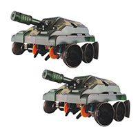 Elenco Titan Tank Battle Set 2-Pack