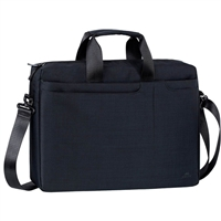 "RIVACASE Rivacase Biscayne Laptop Bag Fits up to 15.6"" - Black"