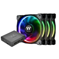 Thermaltake Riing Plus 12 Performance Edition RGB Hydraulic Bearing 120mm Case Fan - Triple Pack
