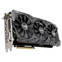 ASUS ROG STRIX GeForce GTX 1080 Ti Gaming Overclocked Triple-Fan 11GB GDDR5X PCIe Video Card
